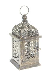 Подсвечник подвесной Gardman Arabian, высота 25 см17615Декоративный подсвечник Gardman Arabian, изготовленный из высококачественного металла, позволит украсить интерьер дома оригинальным образом. Вы можете поставить или подвесить подсвечник в любом месте, где он будет удачно смотреться и радовать глаз. Кроме того - это отличный вариант подарка для ваших близких и друзей.