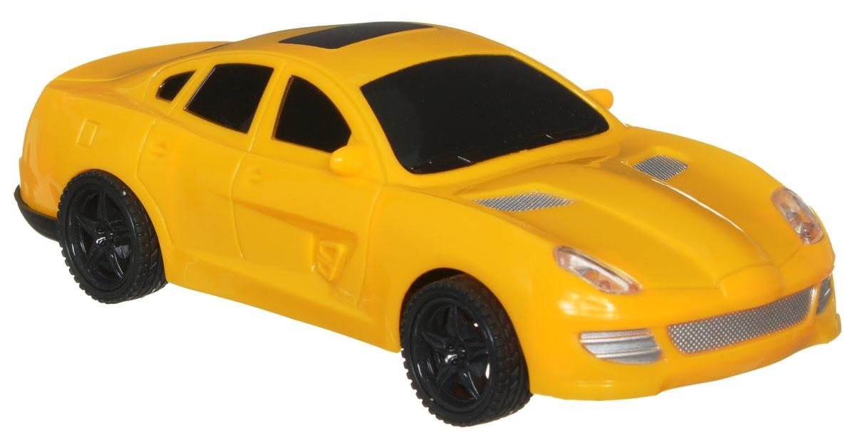 Plastic Toy Машина на радиоуправлении Game Car цвет желтый