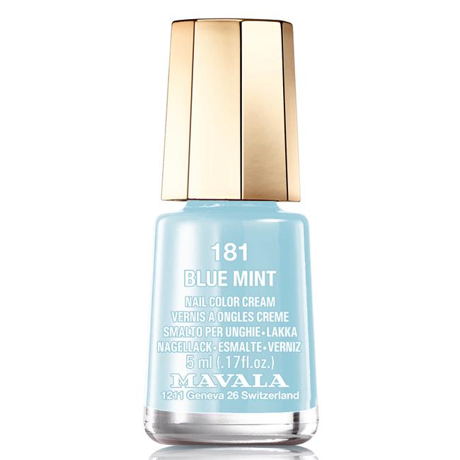 Mavala Лак для ногтей Голубая мята/Blue mint , Тон 181, 5 мл