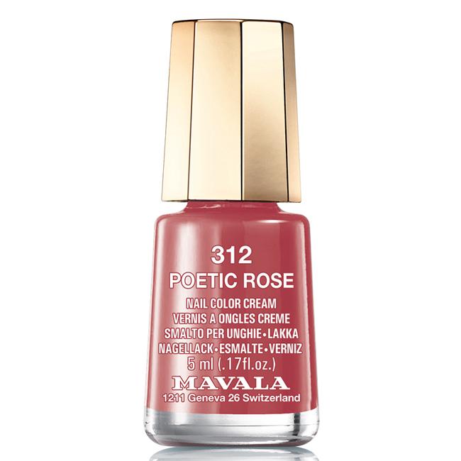 Mavala Лак для ногтей Лирика роз/Poetic Rose, Тон 312, 5 мл