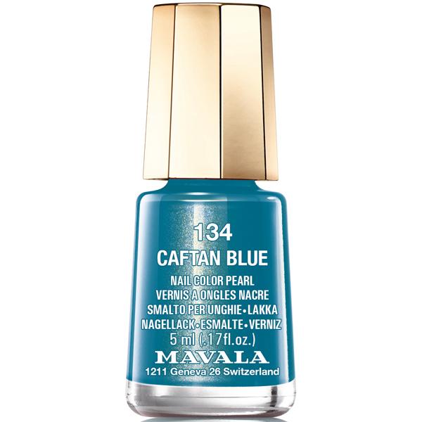 Mavala Лак для ногтей Синий бархат/ Caftan Blue, Тон 134, 5 мл08-1466Лаки для ногтей Mavala представлены классическими и ультрамодными оттенками. Они пропускают воздух даже через 3-4 слоя, давая возможность ногтям дышать. Специально разработанный состав лаков позволяет им оставаться свежими и насыщенными долгое время. Лаки не содержат толуол, формальдегид, камфору, дибутил фталат, канифоль и добавленный никель.