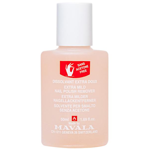 Mavala Жидкость для снятия лака Розовая NAIL POLISH REMOVER Pink 50 мл08-431Жидкость для снятия лака без ацетона специально разработана для тонких и хрупких ногтей. Апельсиновое масло, входящее в ее состав, обладает антисептическими и антиоксидантными свойствами, увлажняет ногтевую пластину и кутикулу, улучшает структуру ногтей.