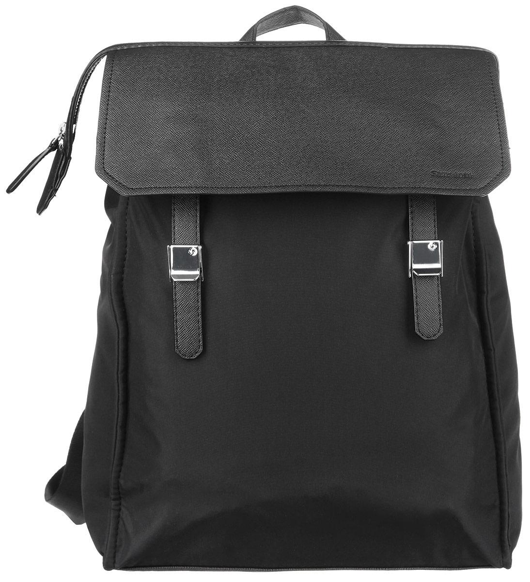 Рюкзак женский Samsonite, цвет: черный. 56D-09003