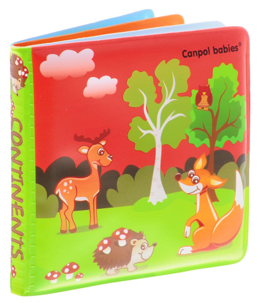 Canpol Babies Книжка-игрушка для ванны Животные