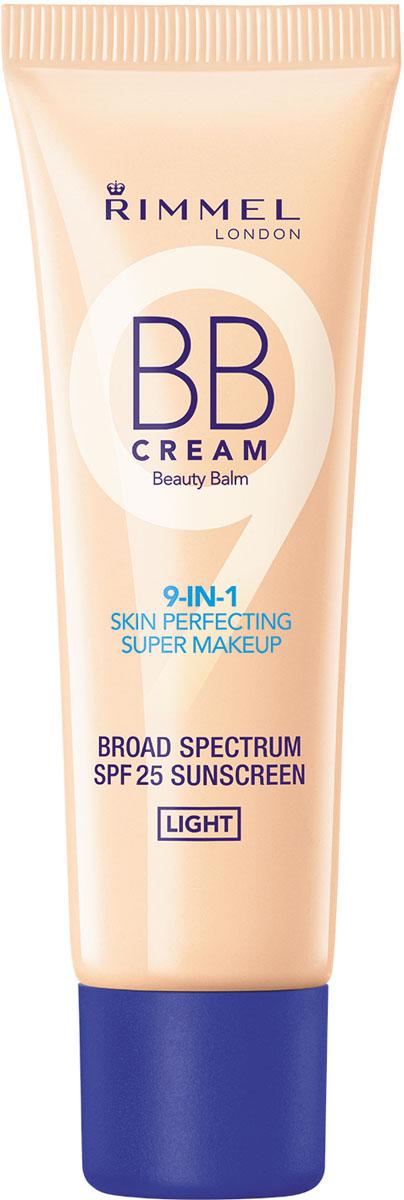 Rimmel BB-крем Тональный крем тон 001,30 мл34667656001Великолепно ложится на кожу и дает незаметное естественное покрытие. 9 функций для макияжа в 1 средстве!