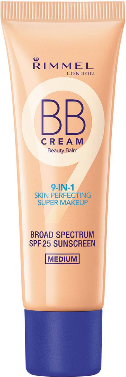 Rimmel BB-крем Тональный крем тон 002,30 мл34667656002Великолепно ложится на кожу и дает незаметное естественное покрытие. 9 функций для макияжа в 1 средстве!