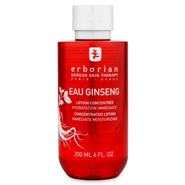 Erborian GINSENG Энергетический тоник для лица 190 мл780086Тоник обогащён целебными корейскими травами: корнем шестилетнего женьшеня, гинкго билоба и имбирём. Моментально увлажняет, смягчает и освежает кожу, придавая ей бархатистость. Мгновенное действие: - Мгновенная свежесть и заряд энергии; - Повышение уровня увлажнённости кожи на 30%; - Мягкая и бархатистая кожа. Долгосрочное действие: - Восстановление кожи и стимуляция процессов обновления клеток; - Активация микроциркуляции; - Устранение следов усталости.