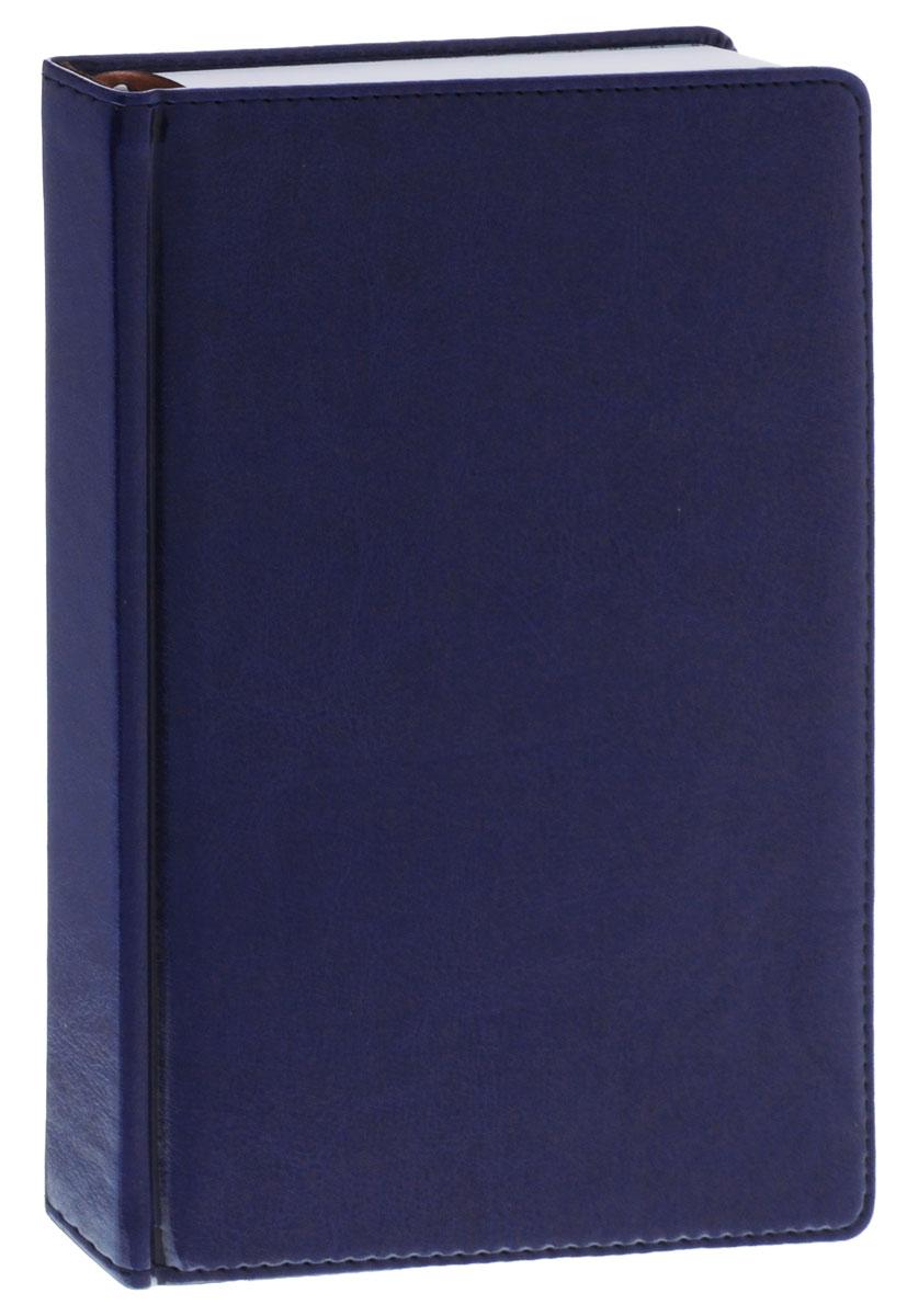 Index Ежедневник Nature недатированный 168 листов цвет синий