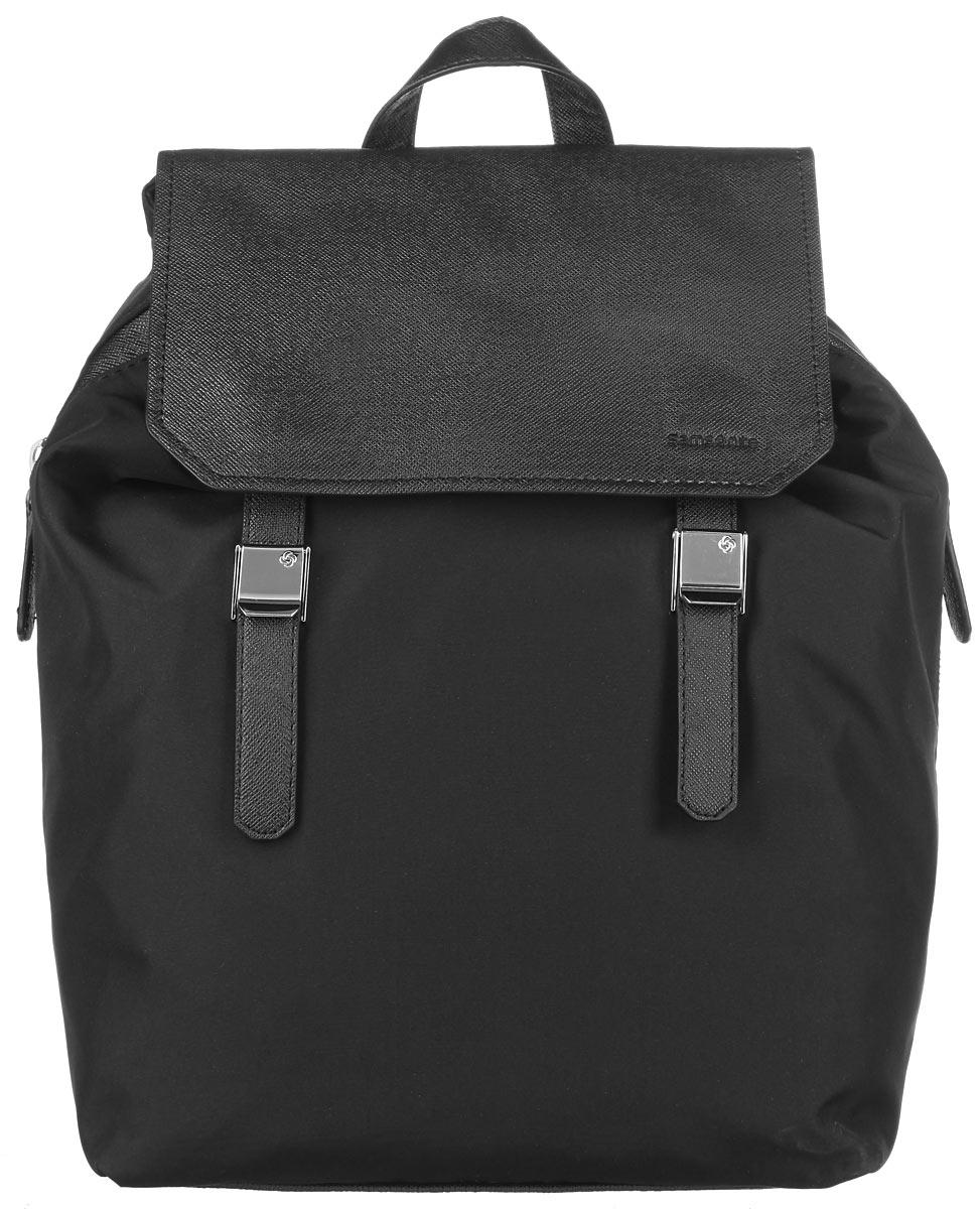 Рюкзак женский Samsonite, цвет: черный. 56D-09001