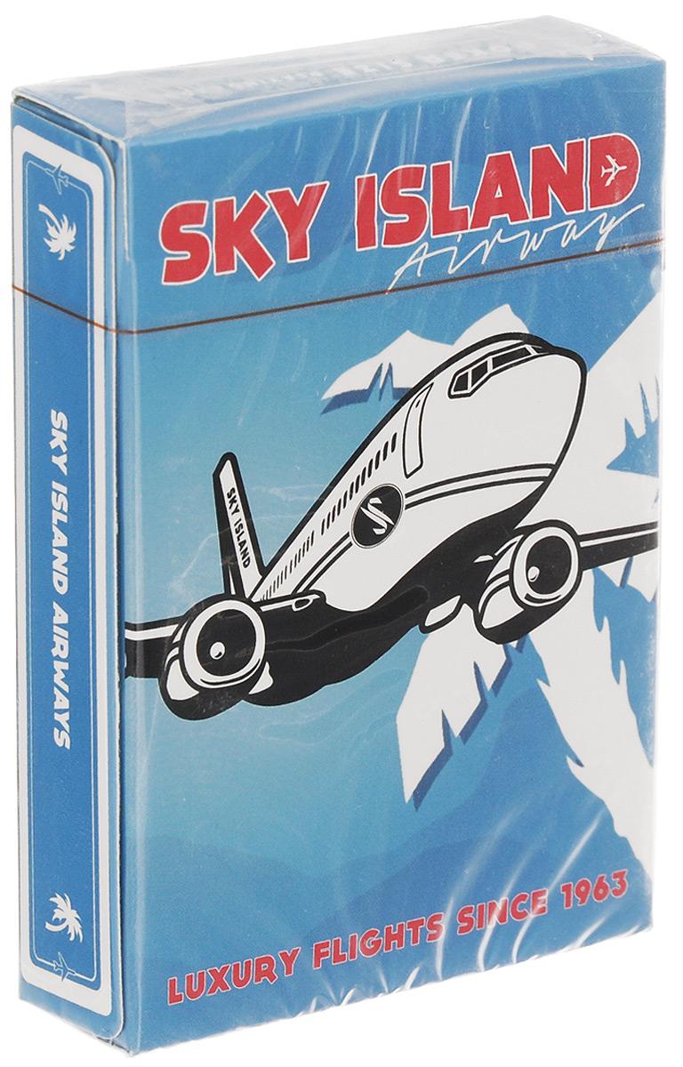 Карты игральные The Blue Crown Sky Island Airways, цвет: синий, 52 картыК-494Игральные карты The Blue Crown Sky Island Airways стандартного размера выполнены из многослойного картона с пластиковым покрытием и превосходно подойдут как для игры, так и для личной коллекции. В 1960-ых годах одна авиакомпания премиум класса называлась небесный остров. Она предлагала эксклюзивное предложение. Пассажиров возили в частных самолетах на тропический остров, известный только как небесный остров. На нем были предложены лучшие напитки, блюда и остальные условия отдыха. В другие места самолеты авиакомпании не летали. Она была создана только для доставки клиентов в рай. На острове побывало только 10 тысяч пассажиров. Это была настоящая привилегия - открыть современный Эдем. Однажды все это исчезло. Авиакомпания, ее самолеты и сам остров. Единственным доказательством ее существования остались игральные карты, которые раздавались пассажирам во время полета. По сей день неизвестно, что с ней случилось. Был ли это обман или мечта?...