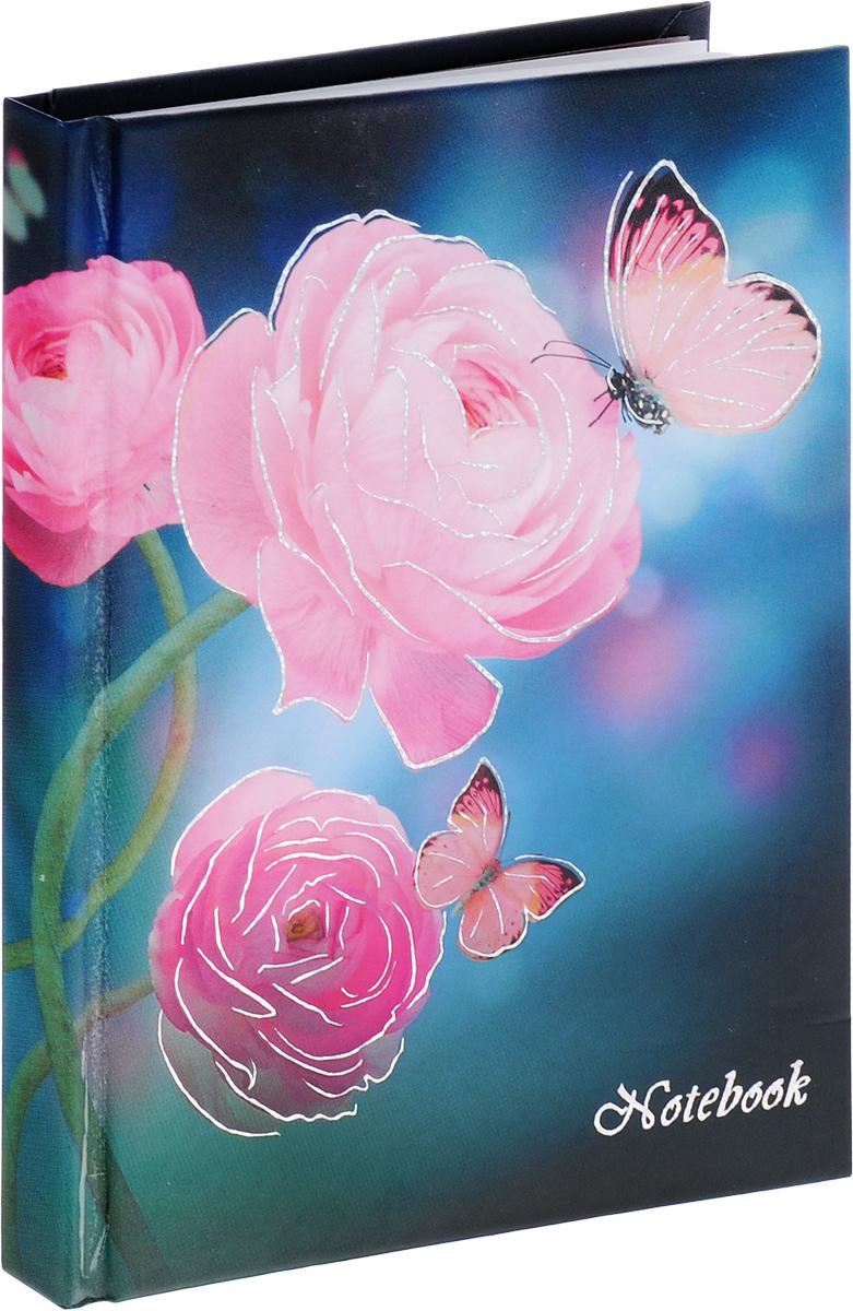 Listoff Записная книжка Розовые грезы 96 листов в клеткуКЗФ6961787Записная книжка Listoff Розовые грезы - важный атрибут современной женщины, необходимый для повседневных записей. Записная книжка содержит 96 листов формата А6 в клетку без полей. На обложке, выполненной из плотного картона, изображены розы и бабочки. Внутренний прошитый блок изготовлен из высококачественной плотной бумаги, что гарантирует чистоту записей и полное отсутствие потери листов. Первая страничка блокнота представляет собой анкету для записи личных данных. Книга для записей станет достойным аксессуаром среди ваших канцелярских принадлежностей. Она подойдет для любителей записывать свои мысли, делать наброски.