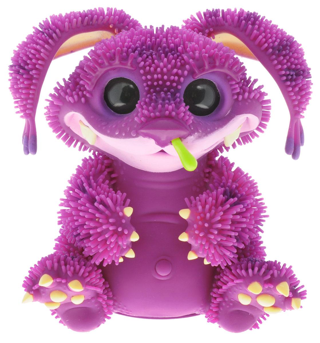 Giochi Preziosi Интерактивная игрушка Монстр Xeno цвет розовый фиолетовыйGPH78150/RUИнтерактивная игрушка Монстр Xeno непременно приведет в восторг вашего малыша. Приятная на ощупь игрушка выполнена в виде очаровательного монстрика с большими пластиковыми глазками. Игрушка замечательно поет и танцует, или может ворчать и поскуливать. Монстрик любит поглаживание лапок, животика, головы и ушей, любит поесть, иногда даже без меры. А еще он может иногда расстроиться и заболеть. Проявляет огромное количество эмоций. По всему телу игрушки расположены датчики, взаимодействуя с которыми, можно заставить Xeno поднимать ушки, покачиваясь, передвигаться на лапах, совершать движения головой, открыть и закрыть рот. Если Xeno будет не один, и рядом поставить других монстриков, они будут общаться на собственном смешном языке, шутить и петь песенки. Xeno наделен собственным приложением для Android. Его загрузку на свой планшет или телефон вы произведете бесплатно. Используя его, вы будете кормить Xeno, или лечить. Игрушка принесет ребенку много...