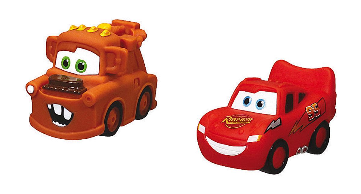 Simba Набор игрушек-брызгалок для ванной Тачки7056875_красный, оранжевыйЯркий набор игрушек для ванной Тачки привлечет внимание вашего малыша и сделает процесс купания веселым и интересным. Набор состоит из двух игрушек-брызгалок в виде героев знаменитого мультфильма Тачки. Игрушки способствуют развитию воображения, цветового восприятия, тактильных ощущений и мелкой моторики рук.