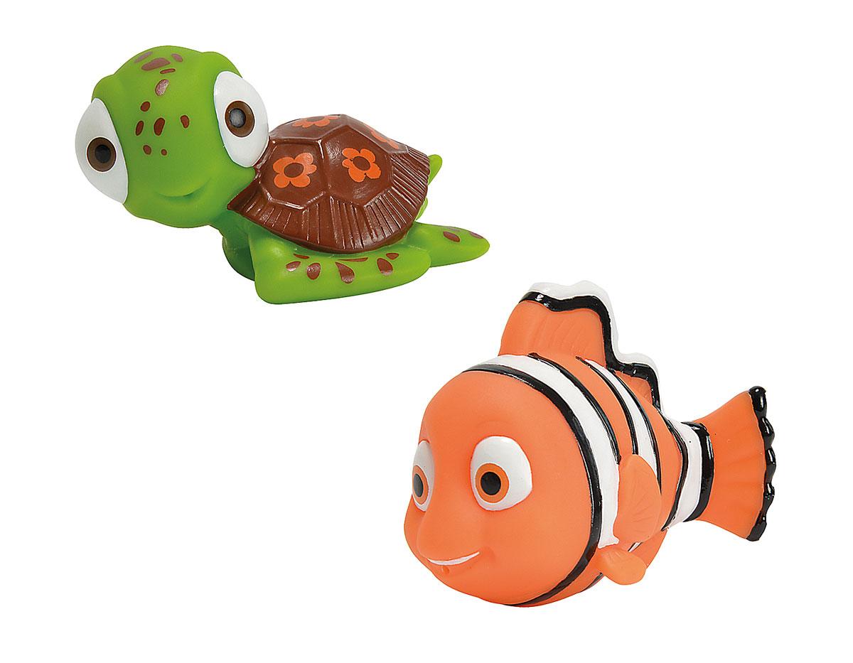 Simba Набор игрушек-брызгалок для ванной Немо7053570Яркий набор игрушек для ванной Немо привлечет внимание вашего малыша и сделает процесс купания веселым и интересным. Набор состоит из двух игрушек-брызгалок в виде героев знаменитого мультфильма В поисках Немо. Игрушки способствуют развитию воображения, цветового восприятия, тактильных ощущений и мелкой моторики рук.