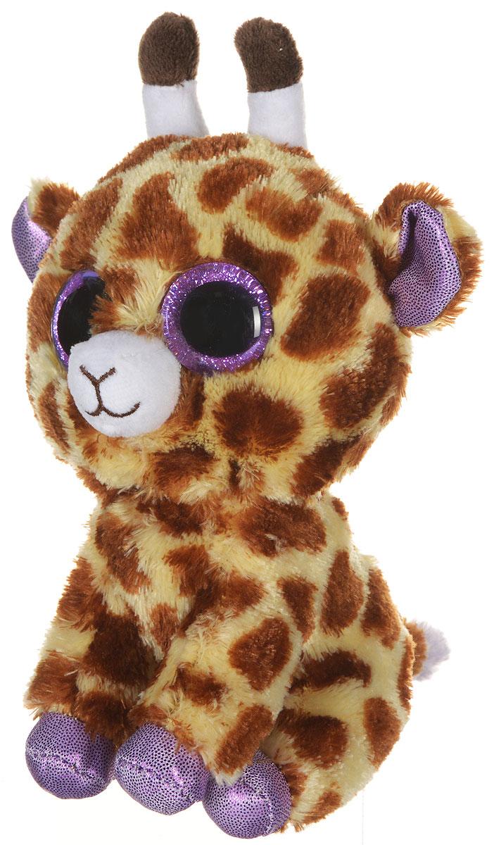 TY Мягкая игрушка Жираф Safari 15 см36011Мягкая игрушка TY Жираф Safari станет лучшим другом вашему ребенку, ведь с ним так просто играть! Яркий малыш жираф Safari - невероятно симпатичный парнишка! Его мягкая шерстка и выразительные глазки фиолетового цвета еще никого не оставляли равнодушным! Его привлекательная пятнистая окраска выделяет его из всей коллекции. Кончик хвоста, ушки, лапки у жирафа нежно-фиалкового цвета. Заберите его к себе и он навсегда станет вашим любимым питомцем! Игрушка развивает тактильные навыки, зрительную координацию, мелкую моторику рук.