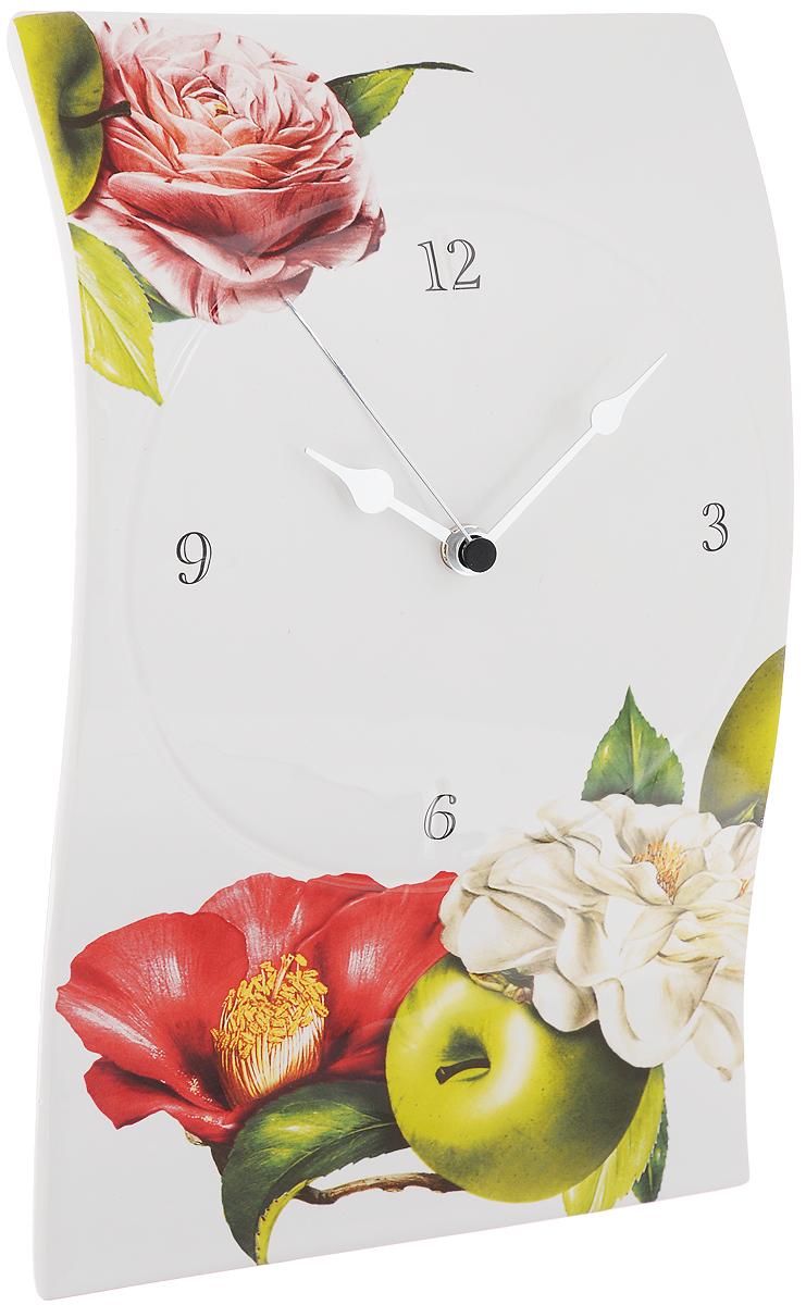 Часы настенные Ceramiche Viva Фруктовая фантазия
