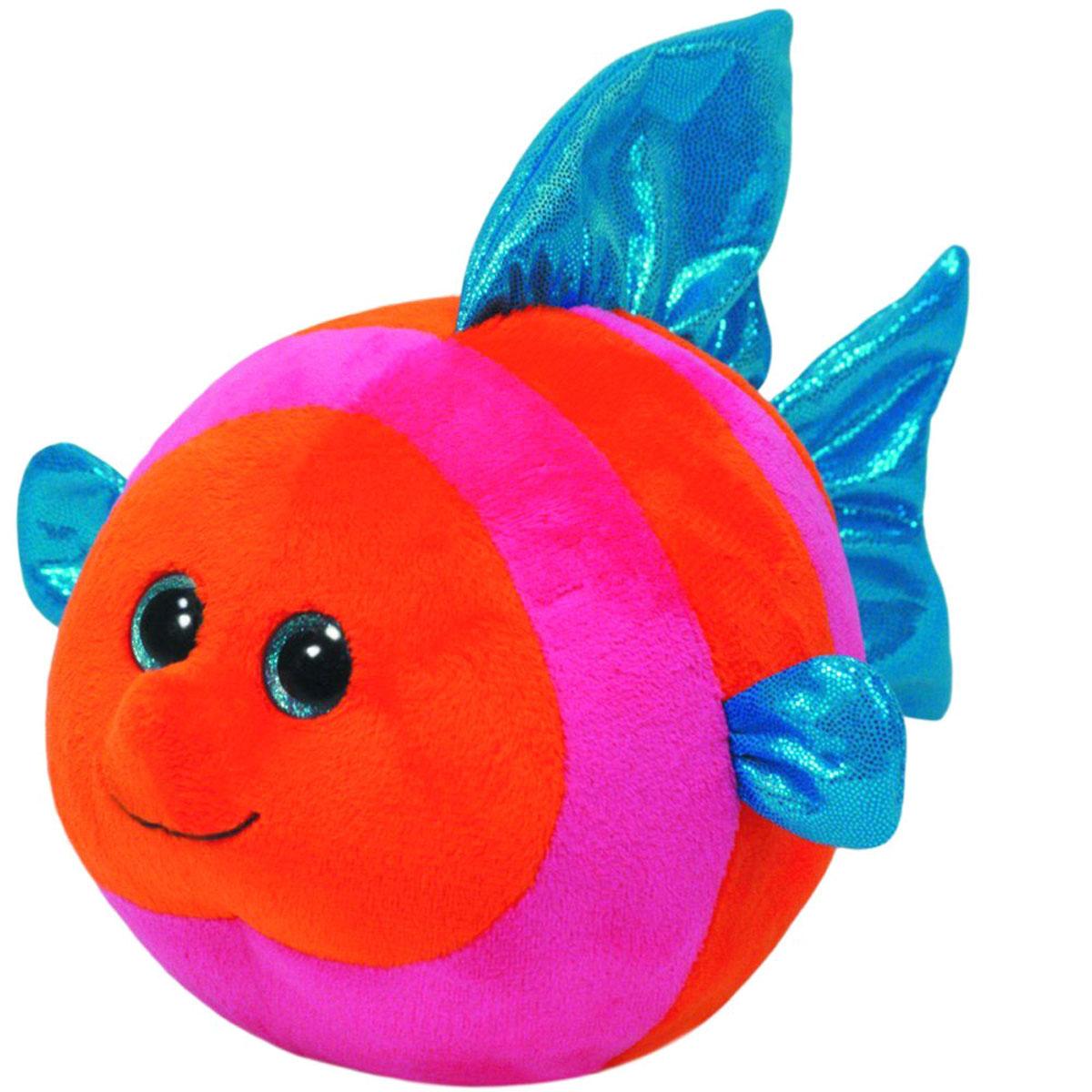 TY Мягкая игрушка Рыбка Splashy 12 см38131Мягкая игрушка TY Рыбка Splashy - это прекрасный подарок для вашего малыша. Модель отличается оригинальным дизайном и качественным исполнением. Игрушка станет верным другом для каждого ребенка, подарит множество приятных мгновений и непременно поднимет настроение. Изготовлена из качественных и безопасных материалов, приятных на ощупь. Пластиковые гранулы, используемые при набивке игрушки, способствуют развитию мелкой моторики рук ребенка. Симпатичная игрушка будет радовать вашего ребенка, а также способствовать полноценному и гармоничному развитию его личности.