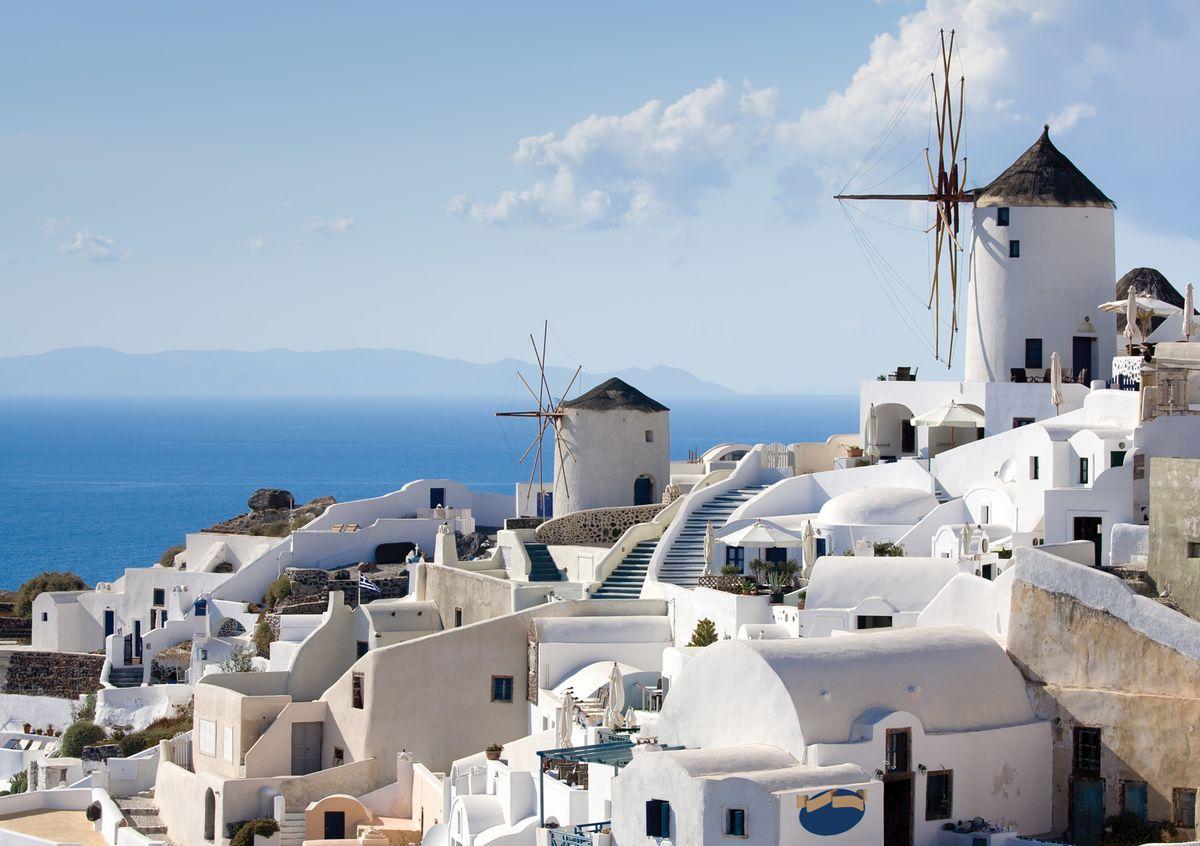 """Фотообои Decoretto """"Греция"""", 360 х 254 см"""