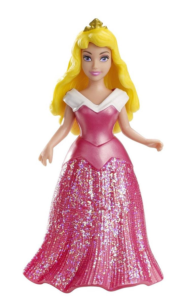 Disney Princess Мини-кукла Спящая красавицаX9412(BDJ64/X9413/14/15/18/19)Мини-кукла Disney Princess Спящая красавица непременно порадует вашу малышку и доставит ей много удовольствия от часов, посвященных игре с ней. Куколка выполнена в виде героини диснеевского мультсериала Красавица и Чудовище. Одета куколка в яркое малиновое платье, выполненное по специальной технологии MagiClip из мягкого пластика, которая позволяет его легко снимать и одевать. Платье красиво переливается, благодаря искрящемуся напылению. Ручки, ножки и голова куколки подвижны. Ваша малышка с удовольствием будет играть с этой куколкой, проигрывая сюжеты из мультсериала или придумывая различные истории.