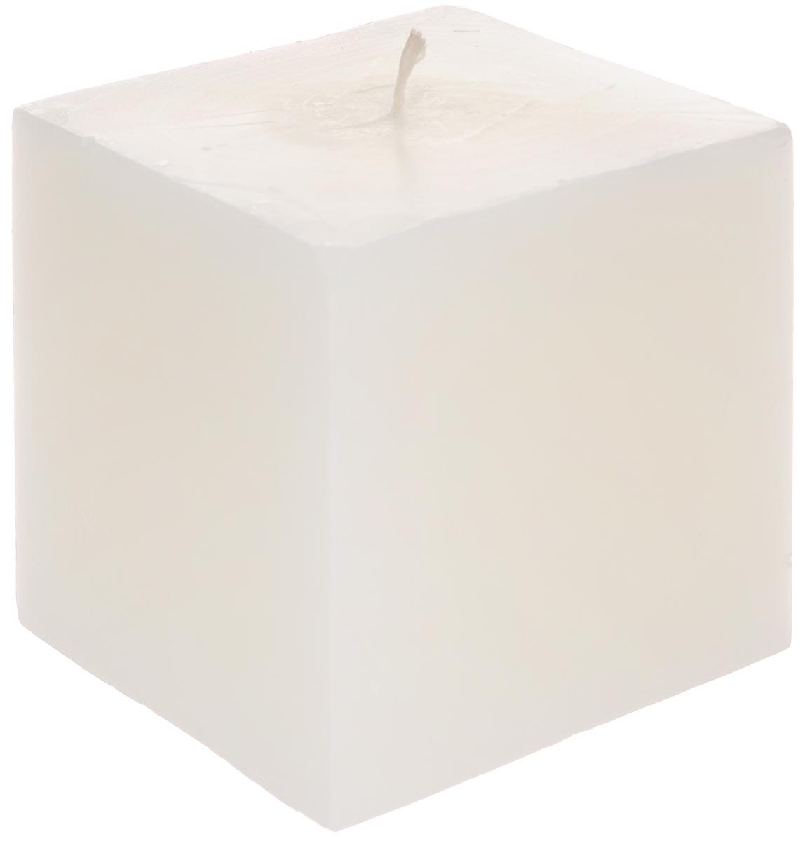 Свеча декоративная Proffi Квадрат, цвет: молочный, 9,5 х 9,5 х 9,5 смPH3410Свеча Proffi Квадрат выполнена из парафина и стеарина в классическом стиле. Изделие порадует вас ярким дизайном. Такую свечу можно поставить в любое место, и она станет ярким украшением интерьера. Свеча Proffi Квадрат создаст незабываемую атмосферу, будь то торжество, романтический вечер или будничный день.