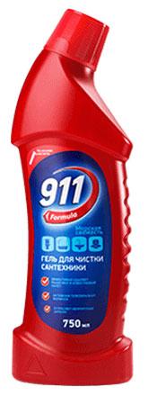 Гель для чистки сантехники Formula 911 Морская свежесть, 750 мл1969Гель Formula 911 Морская свежесть предназначен для чистки унитазов, ванн, раковин, кафельной плитки, смесителей. Легко и эффективно удаляет ржавчину и известковый налет. Благодаря активной гелеобразной формуле легко наносится и смывается, устраняет неприятные запахи и придает блеск поверхности. Объем: 750 мл. Состав: вода - 30% и более; неорганическая кислота - менее 15%; катионные ПАВ, хлорид натрия, отдушка, краситель - менее 5%.