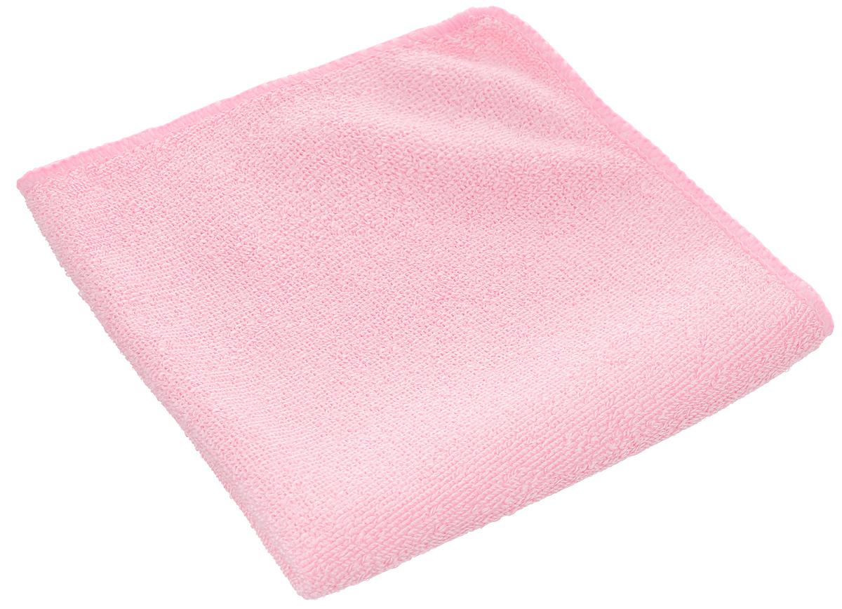 Салфетка из микрофибры для уборки Youll Love, цвет: розовый, 30 х 30 см58044_розовыйСалфетка Youll Love, изготовленная из полиэфира 70% и полиамида 30%, предназначена для очищения загрязнений на любых поверхностях. Изделие обладает высокой износоустойчивостью и рассчитано на многократное использование, легко моется в теплой воде с мягкими чистящими средствами. Супервпитывающая салфетка не оставляет разводов и ворсинок, удаляет большинство жирных и маслянистых загрязнений без использования химических средств. Размер салфетки: 30 х 30 см.