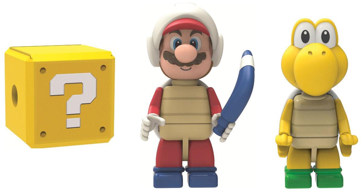 Knex Набор фигурок Boomerang Mario Koopa Troopa & Mystery Figure38868Набор фигурок Knex Boomerang Mario, Koopa Troopa & Mystery Figure станет отличным подарком все поклонникам знаменитых братьев Марио. В набор входит фигурка Boomerang Mario, Koopa Troopa и одна загадочная фигурка. Кто именно? Вы узнаете, только открыв упаковку. Составные части фигурок взаимозаменяемы, поэтому можно собрать свою собственную, уникальную фигурку! Головы и конечности фигурок подвижны.