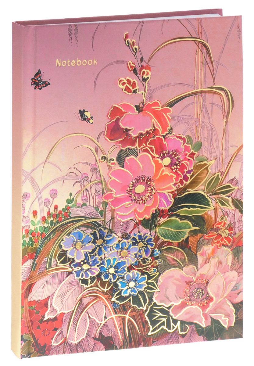 Listoff Записная книжка Нежные краски 100 листов в клеткуКЗФ51001762Записная книжка Listoff Нежные краски - важный атрибут современной женщины, необходимый для повседневных записей. Записная книжка содержит 100 листов формата А5 в клетку без полей. На обложке, выполненной из плотного картона, изображены цветы и бабочки. Внутренний прошитый блок изготовлен из высококачественной плотной бумаги, что гарантирует чистоту записей и полное отсутствие потери листов. Первая страничка представляет собой анкету для заполнения личных данных. Записная книжка имеет ляссе. Книга для записей станет достойным аксессуаром среди ваших канцелярских принадлежностей. Она подойдет для любителей записывать свои мысли, делать наброски.