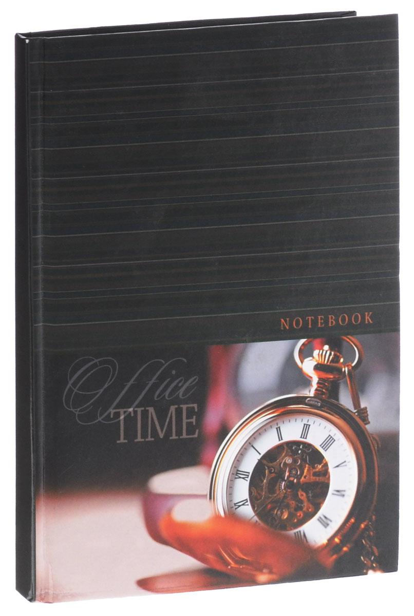 Listoff Записная книжка Время 80 листов в клетку формат А5КЗ5801692Записная книжка Listoff Время - очень важный атрибут современного человека, необходимый для рабочих и повседневных записей в офисе и дома. Обложка выполнена из плотного картона, что позволяет делать записи на ходу. Оформлена обложка изображением часов. Записная книжка содержит 80 листов формата А5 в клетку. Записная книжка станет достойным аксессуаром среди ваших канцелярских принадлежностей. Она пригодится как для деловых людей, так и для любителей записывать свои мысли, писать мемуары или делать наброски новых стихотворений.