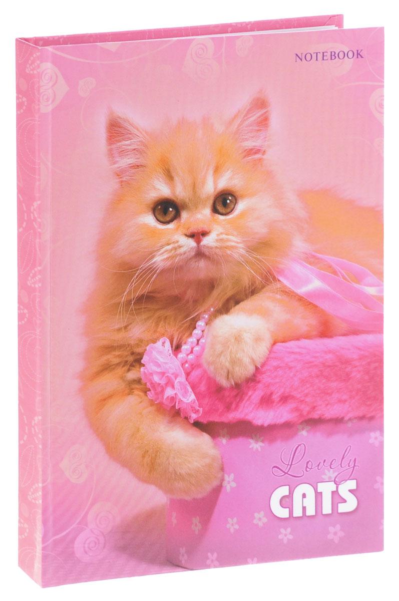 Listoff Записная книжка Рыжая кошка 130 листов в клеткуКЗ51301513Записные книжки призваны хранить в себе важную информацию на долгое время, поэтому нужно обязательно позаботиться, чтобы она была удобной для постоянного ношения с собой, стильной - потому что, на этот аксессуар обязательно обратят внимание окружающие. Записная книжка Listoff Рыжая кошка содержит 130 листов формата А5 в клетку без полей. Обложка, выполненная из ламинированного картона, оформлена изображением очаровательной кошки. Внутренний блок изготовлен из высококачественной белой бумаги, что гарантирует чистоту записей и отсутствие клякс. Книга для записей Listoff станет достойным аксессуаром среди ваших канцелярских принадлежностей. Она подойдет как для деловых людей, так и для любителей записывать свои мысли, рисовать скетчи, делать наброски.