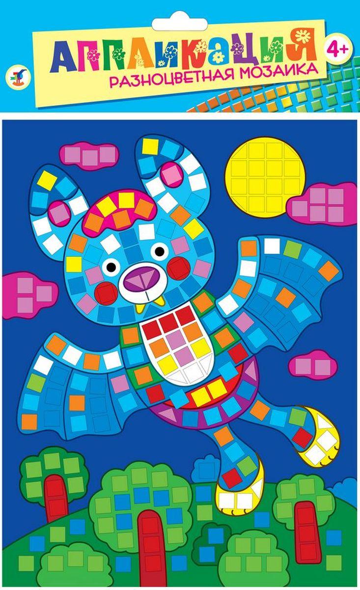 Дрофа-Медиа Аппликация Разноцветная мозаика Летучая мышь2787В набор входят: картинка-основа для аппликации, квадратики из мягкого пластика на самоклеящейся основе 8 цветов, декоративные элементы (стразы, глазки и др.)
