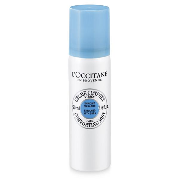 LOccitane Тоник-спрей для лица Карите SHEA BUTTER, 50 мл382691Мягкий бесспиртовой тоник для лица увлажняет, освежает и смягчает кожу. Удобный формат тоника позволяет использовать его в течение всего дня.