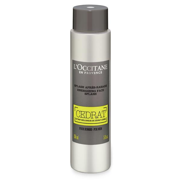 LOccitane Освежающий лосьон после бритья Cedrat для мужчин, 150 мл430286Лосьон содержит органический экстракт корсиканского цитрона, глицерин и витамин В5 и легко становится неотъемлемой частью регулярного ухода за мужской кожей. Подходит для ежедневного применения. Тонизирует, увлажняет и защищает кожу от агрессивных факторов окружающей среды, матирует. Снимает раздражение на коже после бритья, избавляя от ощущения стянутости.