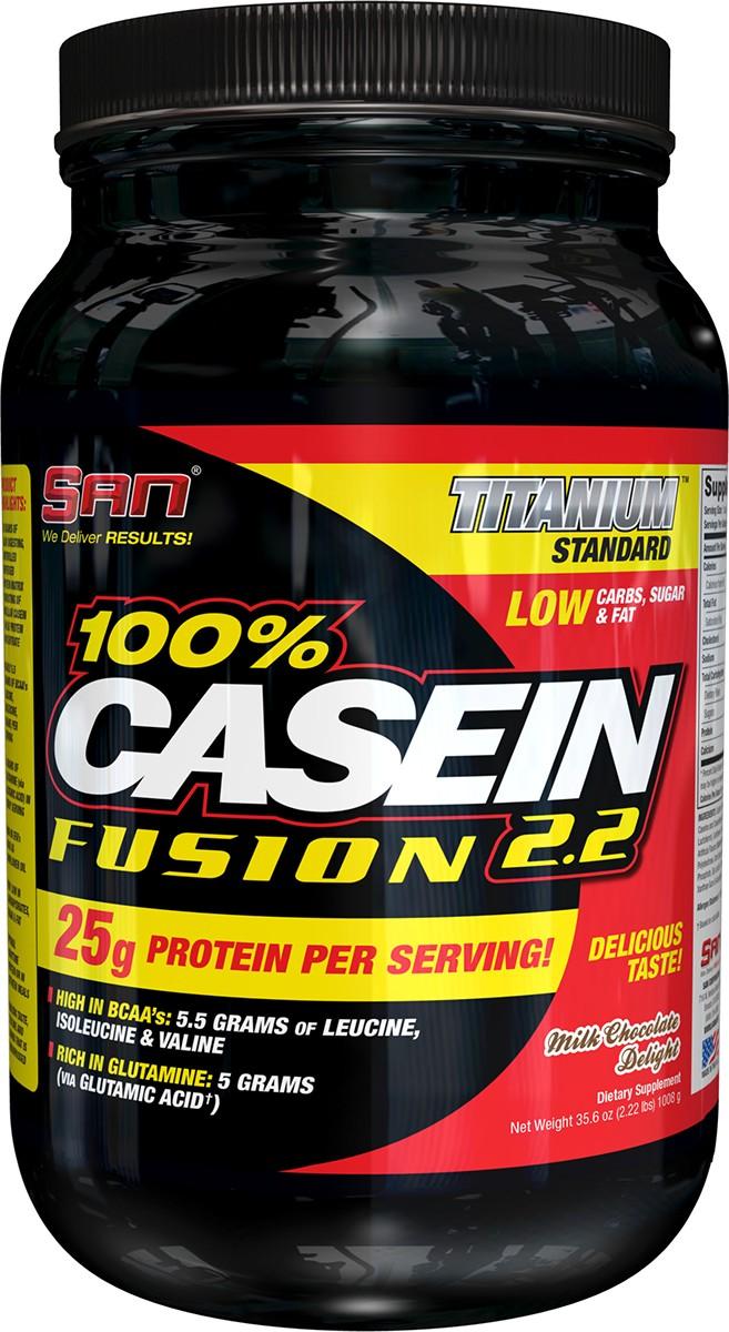 Протеин SAN 100% Casein Fusion, ваниль, 1000 г00512SAN 100% Casein Fusion содержит 25 грамм медленно усваиваемой протеиновой матрицы с контролируемым высвобождением, содержащий мицеллярный казеин и концентрат молочного белка. В одной порции содержится приблизительно 5,5 грамм аминокислот с разветвленными цепями (лейцин, изолейцин, валин) и 5 грамм глутамина; Богат незаменимыми жирными кислотами, которые содержатся в таких продуктах, как подсолнечное масло; Очень низкое содержание углеводов, сахара и жиров; Белок с оптимальным высвобождением в ночное время и между приемами пищи; Непревзойденный вкус, текстура и аромат.