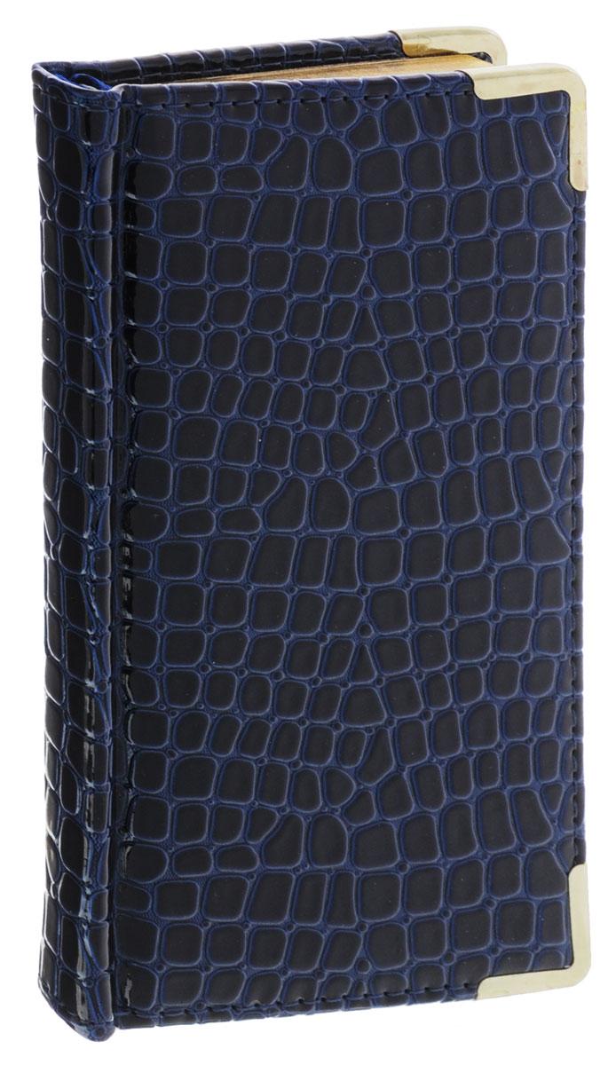 Listoff Планинг Iguana недатированный 64 листа цвет темно-синийПКП146407Недатированный планинг Listoff Iguana станет отличным подарком любому современному деловому человеку! Обложка выполнена из высококачественной искусственной кожи с наполнителем из поролона, что придает планингу опрятный и строгий внешний вид. Металлические закругленные углы защищают его при активном использовании. Внутренний блок изготовлен из высококачественной бумаги и представлен 64 плотными листами, размеченными по дням недели. Первая страница представляет собой анкету для личных данных владельца, на двух последующих расположен календарь с 2016 по 2019 года. Также есть справочная информация: междугородние телефонные коды России и СНГ, международные телефонные коды, соотношение единиц измерения. Последние страницы разлинованы для записи контактных данных деловых партнеров и коллег по работе. Планинг имеет трехсторонний позолоченный обрез и ляссе. Планинг Listoff Iguana станет функциональным и практичным аксессуаром, и займет достойное место на вашем рабочем столе благодаря...