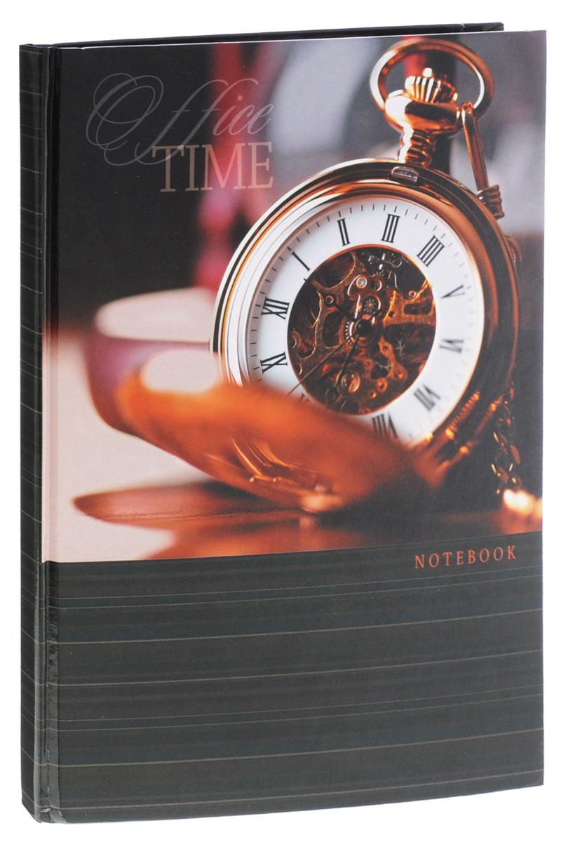 Listoff Записная книжка Время 80 листов в клетку формат А4КЗ4801696Записная книжка Listoff Время - незаменимый атрибут современного человека, необходимый для рабочих и повседневных записей в офисе и дома. Записная книжка содержит 80 листов формата А4 в клетку без полей. Обложка, выполненная из плотного картона, оформлена изображением часов. Внутренний блок изготовлен из высококачественной бумаги, что гарантирует чистоту записей и отсутствие клякс. Записная книжка Listoff Время станет достойным аксессуаром среди ваших канцелярских принадлежностей. Она подойдет как для деловых людей, так и для любителей записывать свои мысли, рисовать скетчи, делать наброски.