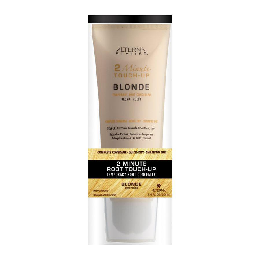 Alterna Консилер для корней волос Блонд Stylist 2 Minute Root Touch-up Blonde — 30 мл47999Alterna Stylist 2 Minute Root Touch-up Blonde Консилердля корней волос Блонд способствует хорошему окрашиванию волос светлого цвета.Так называемая краска для волос создана специально для окрашивания частей у корней каждого волоса. Часто, между профессиональным окрашиванием в парикмахерской возникает одна-единственная проблема отросшие корни волос натурального цвета. Они портят всю картину, и избавиться от них нужно срочно. Этосредствопозволяет за считаные минуты избавиться от недостатка и сделать цвет равномерным по всей длине. Преимуществомконсилерадля волос есть то, что он богат минеральными комплексами. Они способствуют защите каждого волоска и улучшению структуры покрытия. Средство очень быстро сохнет и остаётся без белых пятен или хлопьев после высыхания. Использовать краску можно и для пробы на окрашенные волосы. Это позволит сделать вывод о том идёт ли вам новый цвет волос, ведь смыть его можно сразу же и обычным шампунем. Качественное, надёжное и эффективное окрашивание...