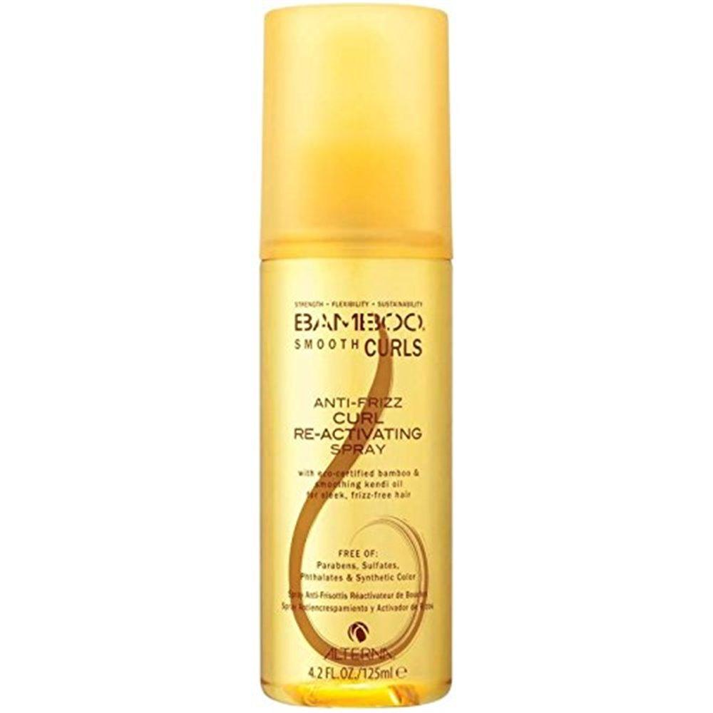 Alterna Полирующий спрей для оживления кудрей Bamboo Smooth Curls Anti-Frizz Curl Re-Activating Spray  125 мл