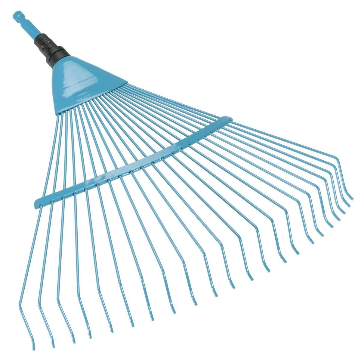 Грабли проволочные пружинящие Gardena03100-20.000.00Предназначены для очистки и аэрации газонов. Прочные проволочные зубья. Рабочая ширина: 50 см. Рекомендуемая длина ручки: 130 см.