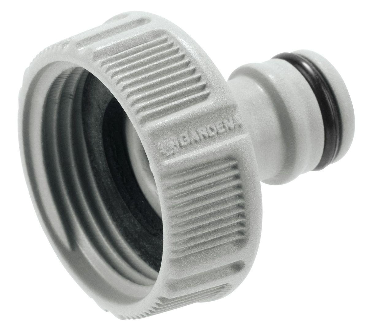 Штуцер резьбовой Gardena, 118202-29.000.00Штуцер резьбовой Gardena позволяет быстро и легко нарастить шланг или подключить необходимый аксессуар. Все соединения герметичны. Легко устанавливается и не требует использования инструментов. Для кранов диаметром 26,5 мм (G 3/4) с резьбой 33,3 мм ( G 1).