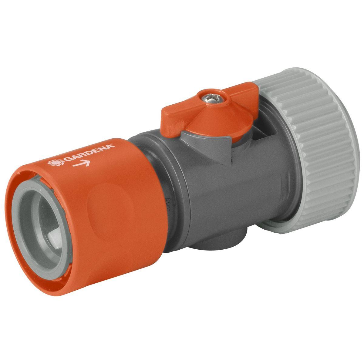 Коннектор с регулятором 3/4 Gardena02943-29.000.00вход шланга.