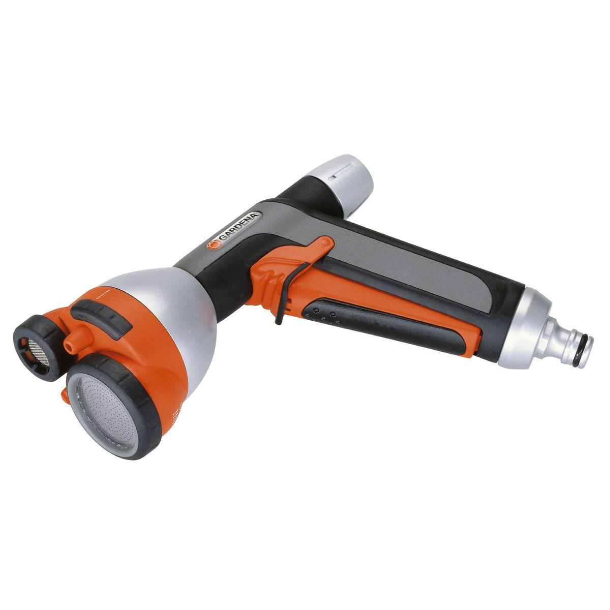 Пистолет для полива многофункциональный металлический Premium Gardena08107-20.000.00полив, дождевание, орошение.