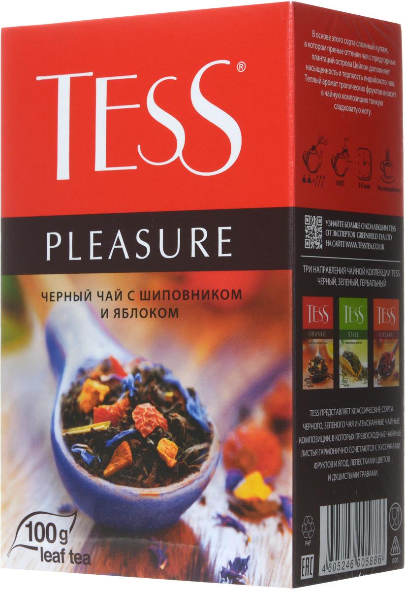 Tess Pleasure черный листовой чай, 100 г 0588-15