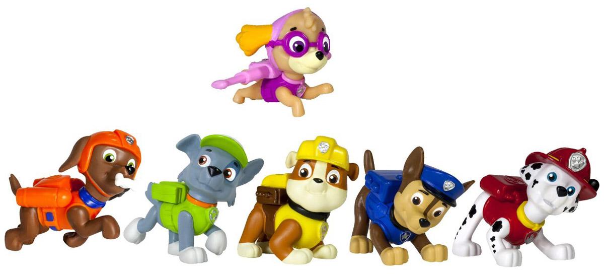 Paw Patrol Набор фигурок Pup Buddies 6 шт16620Перед набором Paw Patrol Pup Buddies, состоящим из шести героев любимого всеми малышами мультсериала Щенячий патруль не устоит ни один ребенок! Яркие, красивые, отлично выполненные пластиковые фигурки очаровательных щенков в одной упаковке! Придумывайте собственные истории и события, отправляйтесь навстречу приключениям вместе с неутомимой и неунывающей компанией хвостатых спасателей! Отряд щенков к делу готов!