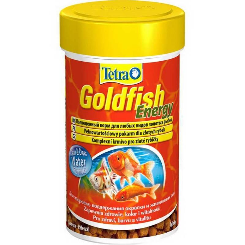 Корм для золотых рыбок Tetra Goldfish Energy, энергетический, палочки, 250 мл (93 г)199132Корм Tetra Goldfish Energy - это высококачественный сбалансированный питательный корм, выполненный в виде палочек, для всех видов золотых рыбок, а также других видов холодноводных рыб. Корм обеспечивает оптимальное количество жира, которое легко усваивается организмом и служит запасным источником энергии. Формула Clean & Clear Water улучшает усвояемость корма и сокращает количество экскрементов рыб, обеспечивая чистоту и прозрачность воды. Запатентованная БиоАктив-формула стимулирует здоровое состояние иммунной системы и обеспечивает высокую продолжительность жизни. Кормить несколько раз в день маленькими порциями. Состав: растительные продукты, рыба и побочные рыбные продукты, зерновые культуры, дрожжи, экстракты растительного белка, моллюски и раки, масла и жиры, минеральные вещества. Аналитические компоненты: сырой белок 38%, сырые масла и жиры 9%, сырая клетчатка 2%, влага 7%. Добавки: витамины, провитамины и химические...