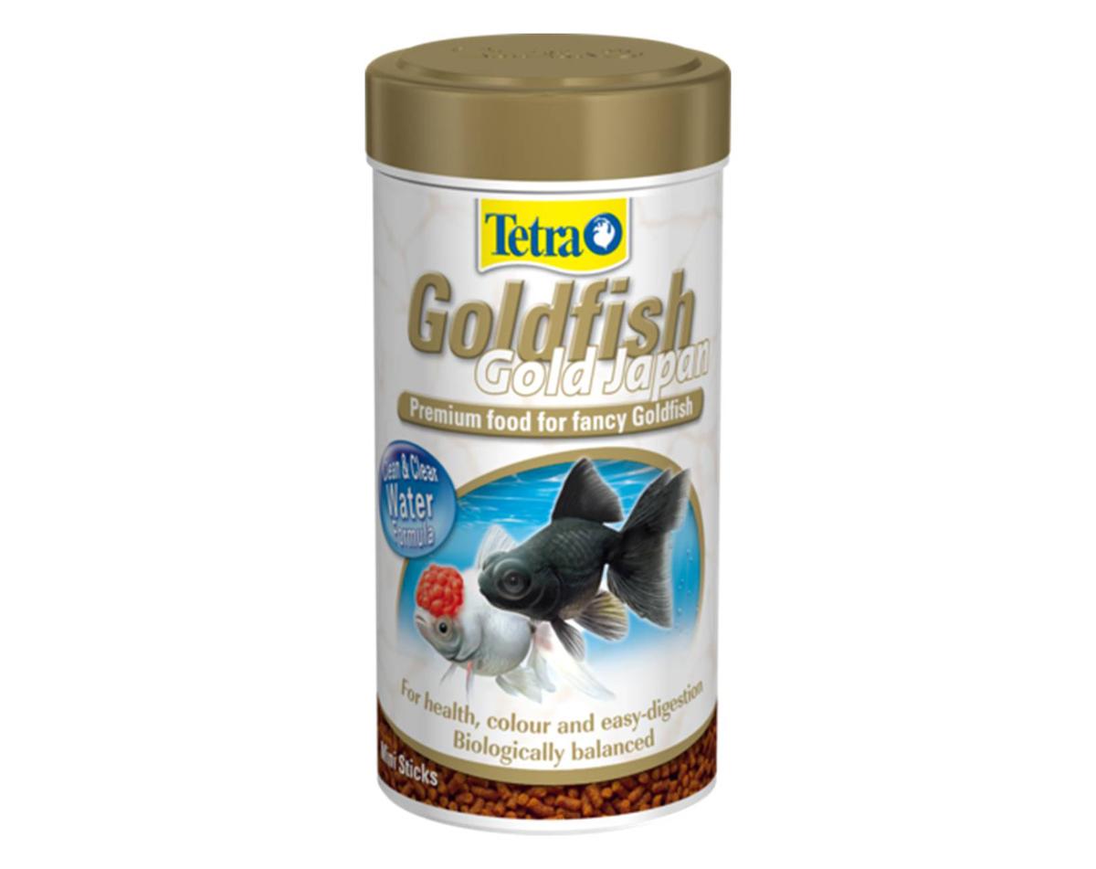 Корм Tetra Goldfish Gold Japan для селекционных золотых рыбок, мини-гранулы, 250 мл (145 г)144361Корм Tetra Goldfish Gold Japan - это высококачественный полноценный корм премиум-класса в гранулах. Предназначен для всех селекционных японских золотых рыбок, таких как оранды, львиноголовки, телескопы, риукины, вуалехвосты. Гранулированный корм быстро размягчается в воде и обеспечивает полноценное и разнообразное питание рыбок. Мини-палочки опускаются на дно, что соответствует привычке японских золотых рыбок искать корм на дне. Корм легко переваривается и снабжает рыб хорошо сбалансированными питательными веществами. Содержит растительные протеины и пророщенную пшеницу, что позволяет поддерживать рыб в идеальной форме и обеспечивает оптимальное пищеварение. Каротиноиды усиливают натуральную окраску рыб. Кормить несколько раз в день маленькими порциями. Товар сертифицирован.