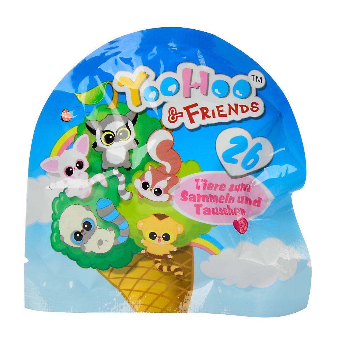 YooHoo & Friends Фигурка флокированная5955237Фигурка Simba YooHoo & Friends в непрозрачной упаковке выполнена из приятного на ощупь материала. В комплект с фигуркой входит карточка с описанием персонажа и буклет с историей приключений. 26 фигурок в коллекции, собери их все!