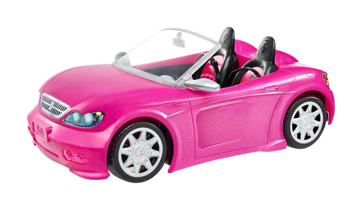 Barbie Гламурный кабриолет цвет розовый