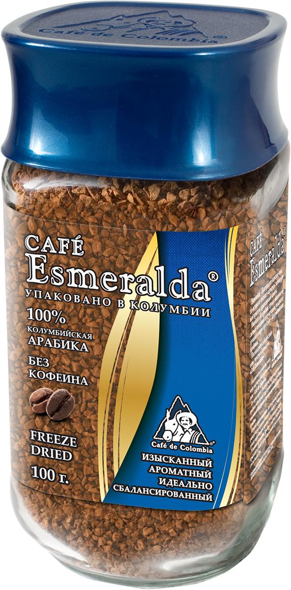 Cafe Esmeralda сублимированный кофе без кофеина, 100 г571345Кофе Cafe Esmeralda произведен и упакован на самой современной в мире фабрике сублимированного кофе Liofilizado в Колумбии под строгим контролем Национальной Федерации производителей кофе Колумбии. Процесс декофеинизации проходит на единственной в Колумбии фабрике Дескафекол (Descafecol). Кофеин извлекают из зеленых кофейных зерен естественным, нежным и современным способом с использованием природных агентов: кристально чистой воды из горных источников и ацетата этила (EA), который содержится во многих фруктах и овощах. На фабрике применяется специальная комбинация чистой воды и ацетата этила, которая позволяет нежно извлекать до 99,7% кофеина из каждого зерна кофе. Кофе после такой обработки прекрасно подходит для обжарки и дальнейшего производства. А готовый напиток имеет настолько совершенный вкус, его невозможно отличить от классического кофе с кофеином. Кофе содержит не более 0,3% кофеина, его можно употреблять людям с сердечно-сосудистыми...