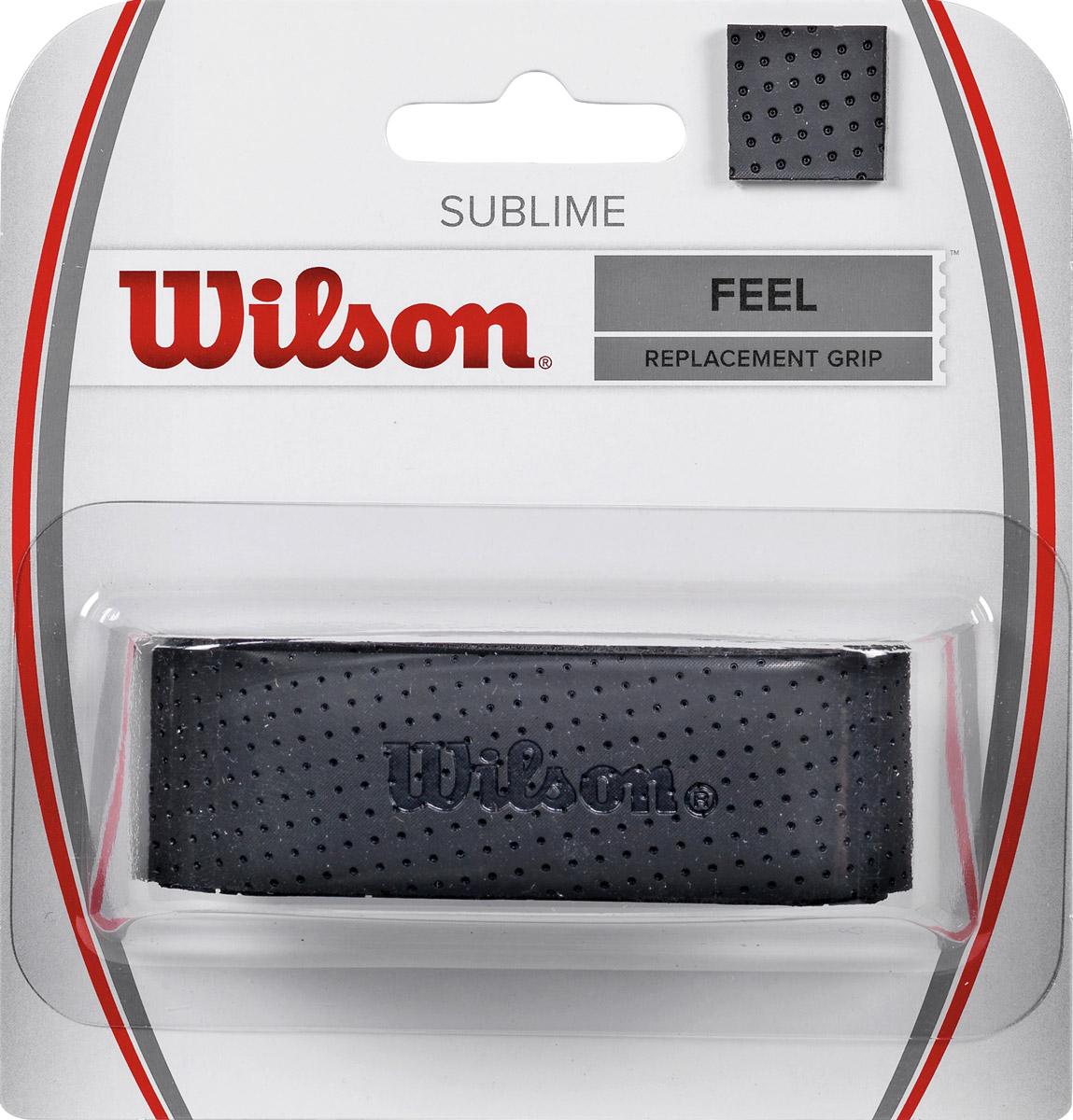 Базовая намотка Wilson Sublime Grip BkWRZ4202BKОсновная - базовая намотка. Максимальное чувство ракетки в руках спортсмена.